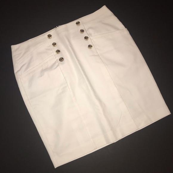 Banana Republic Dresses & Skirts - White Banana Republic pencil skirt